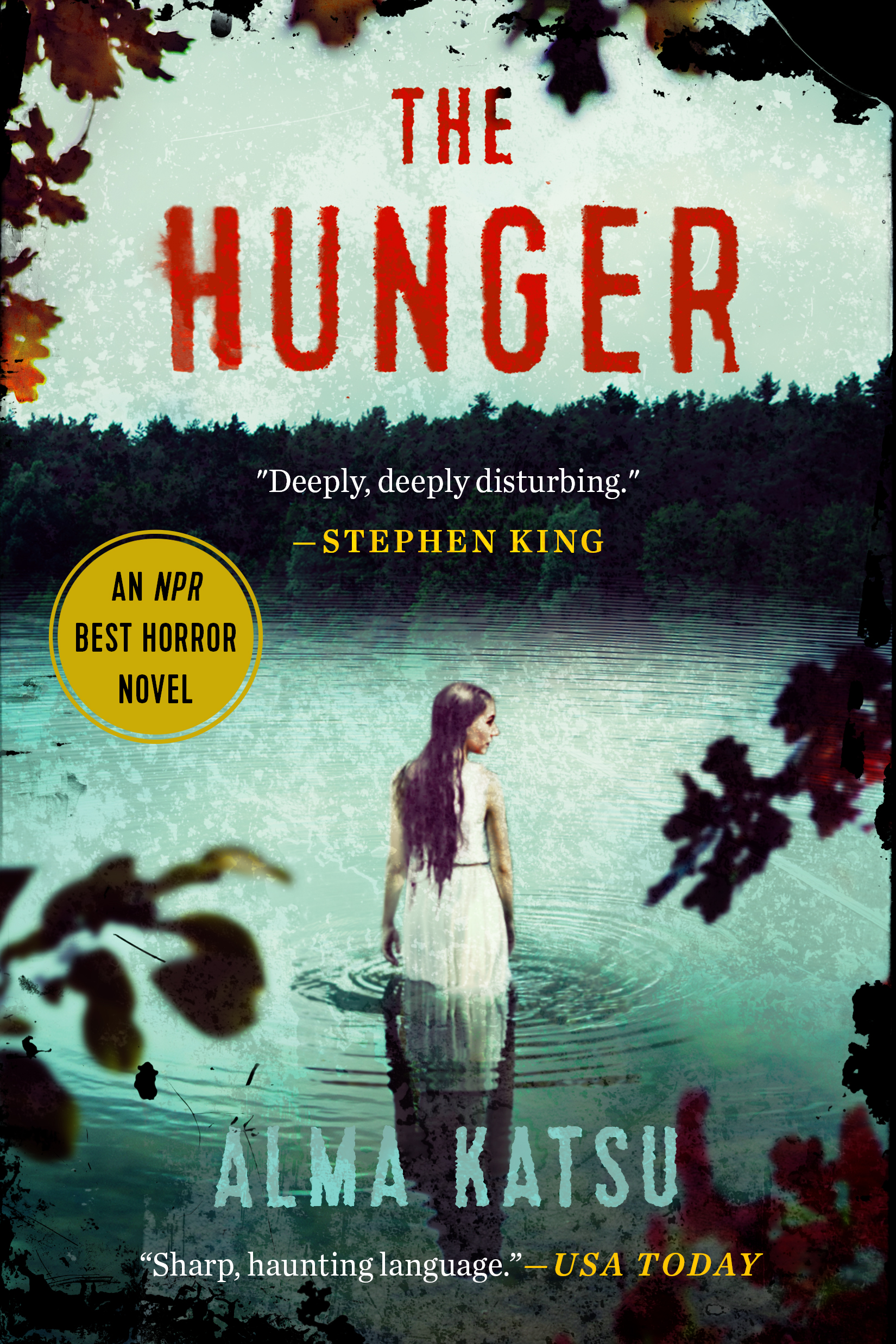 """""""Deeply, deeply disturbing, hard to put down, not recommended reading after dark.""""  – Stephen King   Amazon Best Books of March 2018 Pick  Barnes & Noble March Picks Science Fiction & Fantasy and Mystery/Thriller  Best iBooks Pick  #17 on NPR's Top 100 Horror Novels  Currently in Development with Scott Free and 20th Century Fox  """"Katsu...injects the supernatural into this brilliant retelling of the ill-fated Donner Party."""" -  Publishers Weekly , starred review  """"Katsu's goosebumpy and spooky plot makes for an original and surprising read."""" –  Library Journal , starred review   Goodreads »"""
