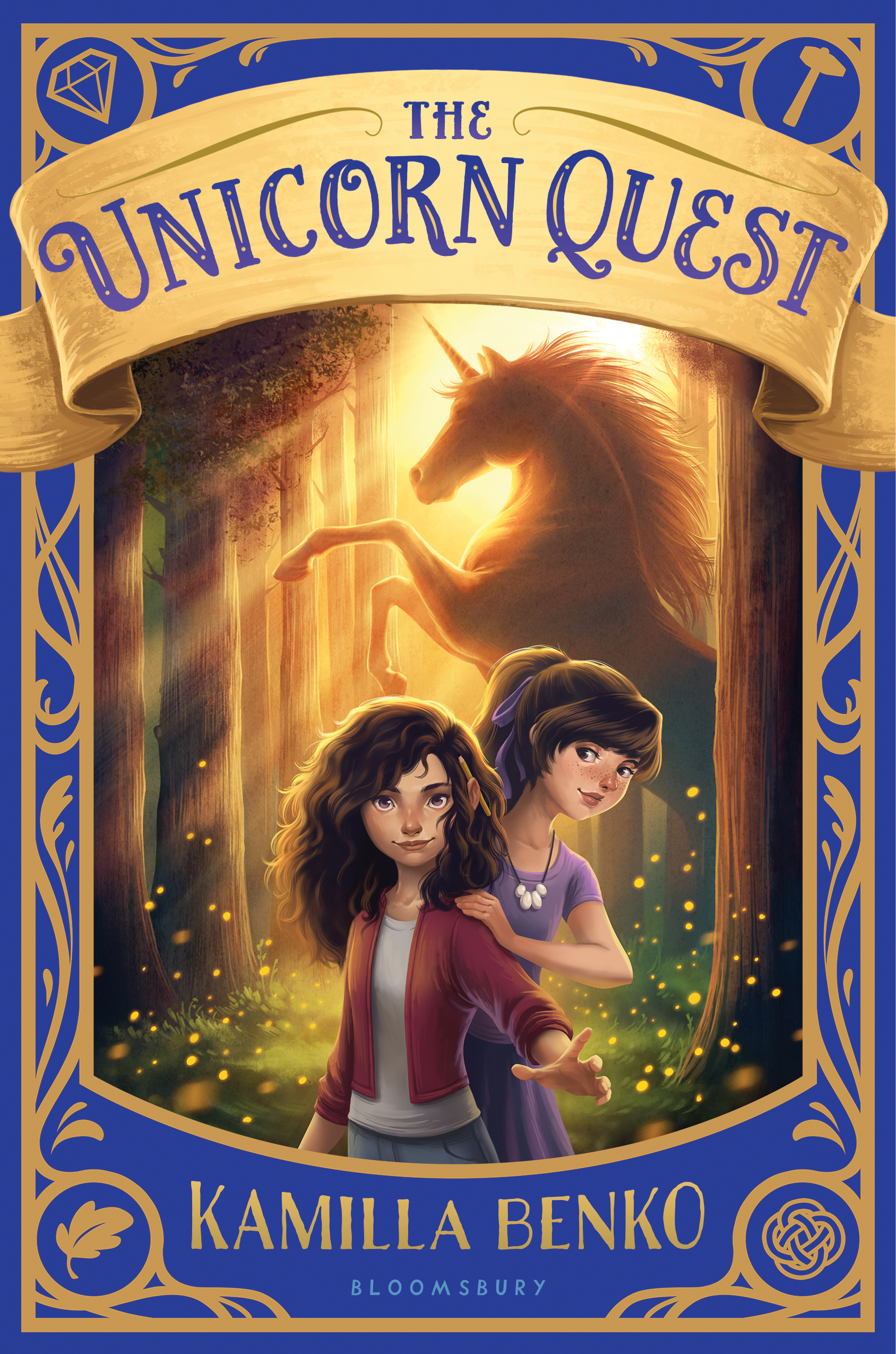 """BEA Buzz Book  2018 Indie Next Pick  Scholastic Book Club Selection  """"Stellar."""" -  The New York Times  starred review  """"Fans of magic and fantasy, especially those who love Madeleine L'Engle's A WRINKLE IN TIME or the dark, creepy atmosphere of Neil Gaiman's CORALINE can't miss this debut."""" -  Booklist , starred review  """"Magical.""""  - Kirkus  review on the upcoming sequel THE UNICORN QUEST: SECRET IN THE STONE   Goodreads »"""