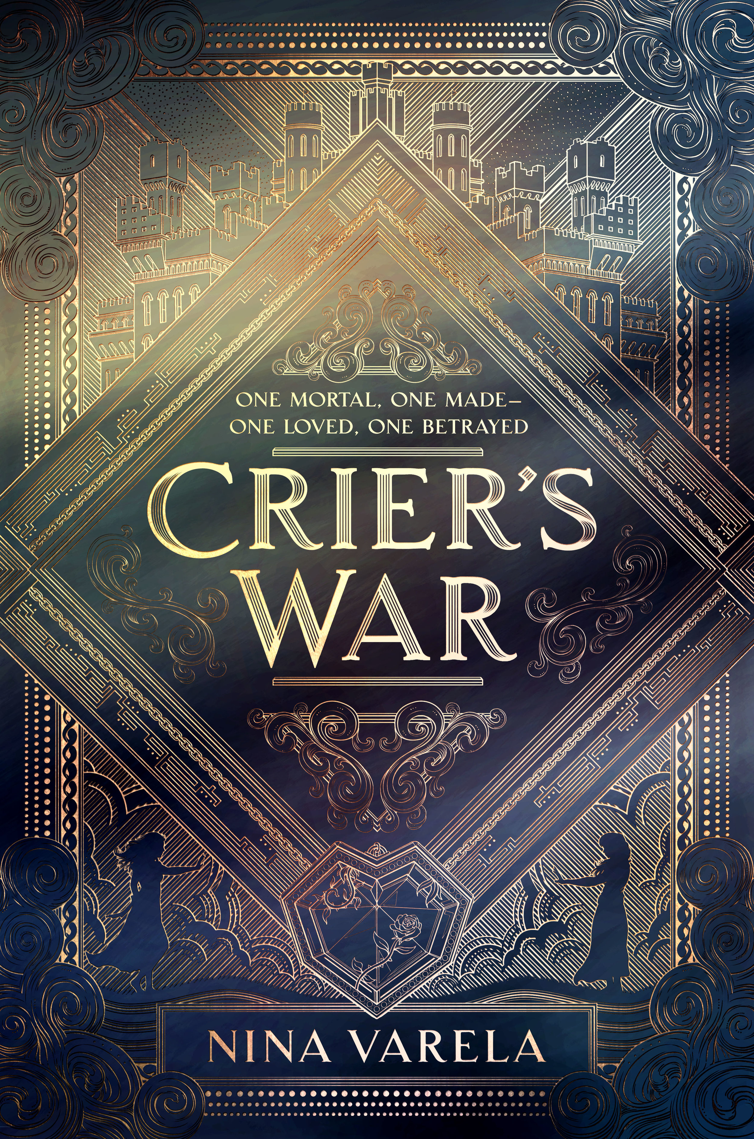 "Exclusive Cover Reveal on  ProblemsofaBookNerd YouTube Channel   ""Crier's War is a beautiful poem of a book that touches meaningfully on such complex themes as forbidden romance, political subterfuge, and what exactly it means to be human. Fans of both fantasy and sci-fi: this book is for you.""  - TIMEKEEPER author Tara Sim"