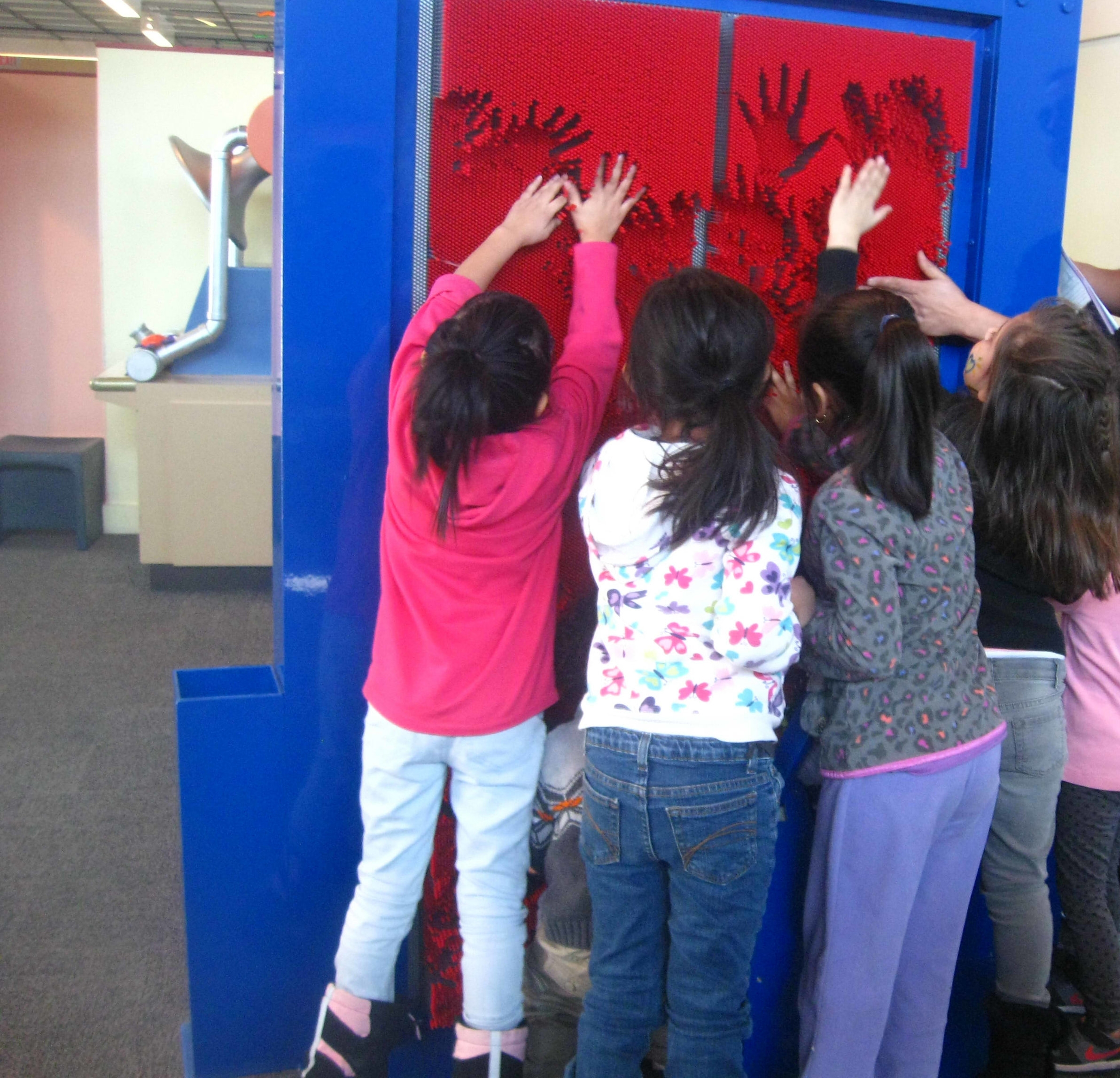 Our field trip to the Children's Kohl's museum.