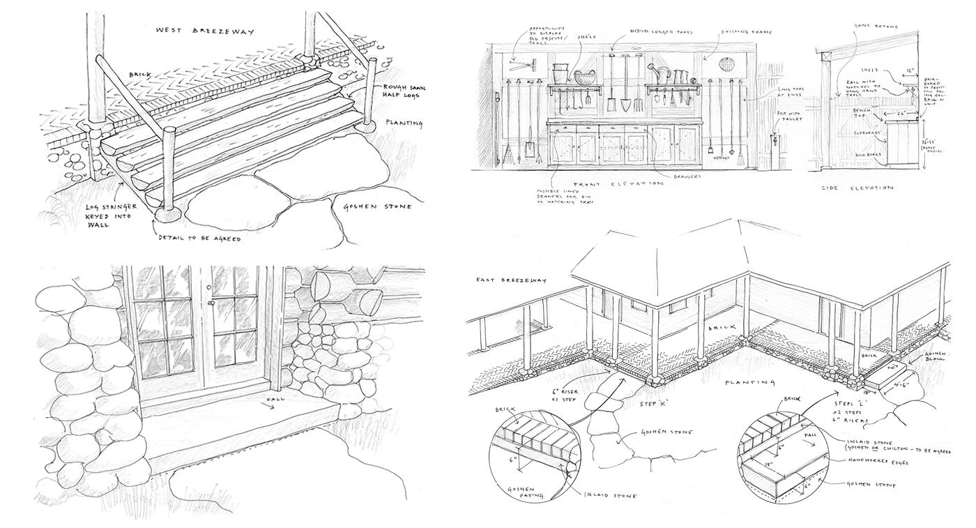 Wisconsin Garden   |   Drawings by Jem Hanbury for TSS Ltd