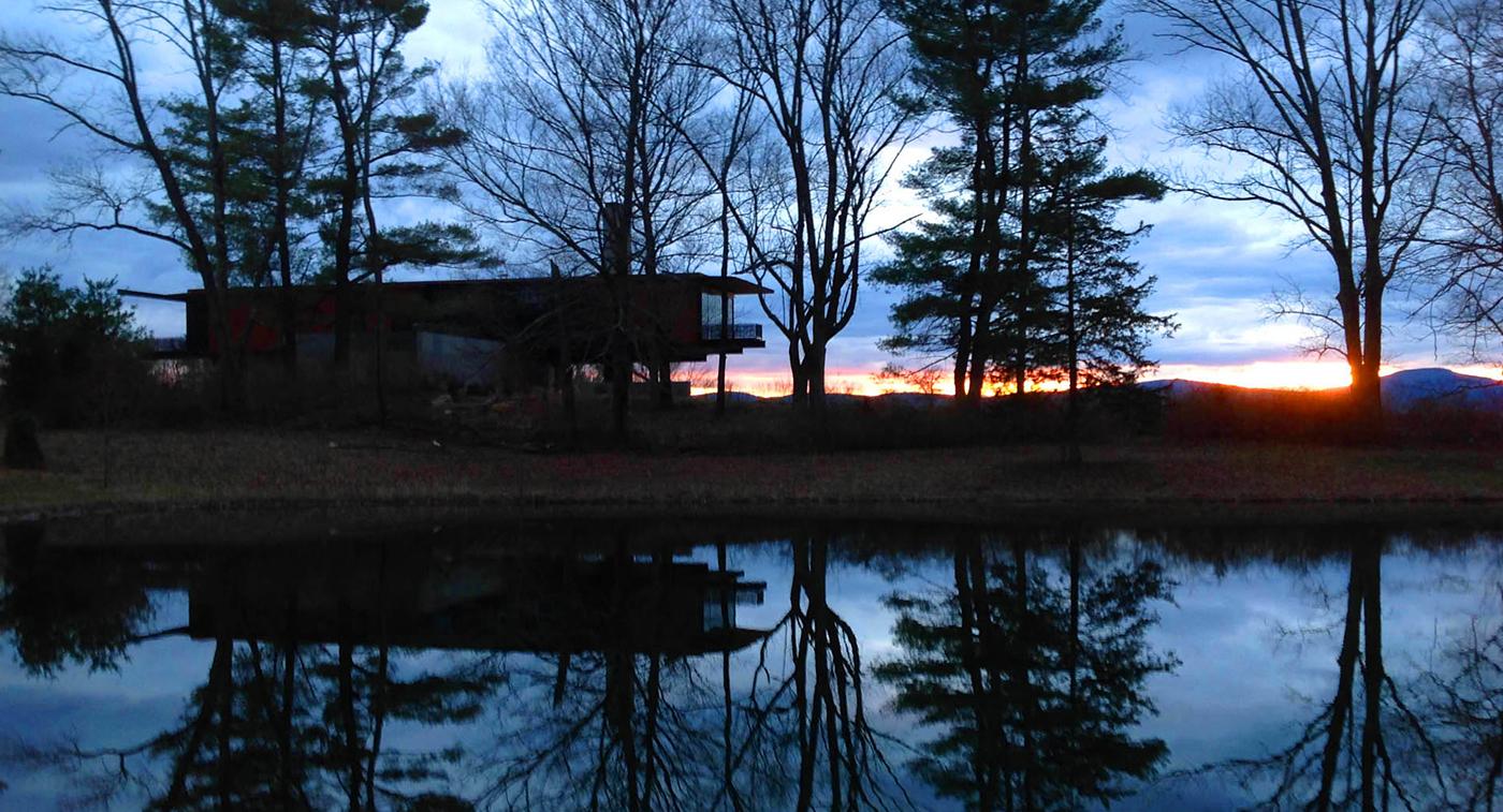 Massachusetts   |   The lake