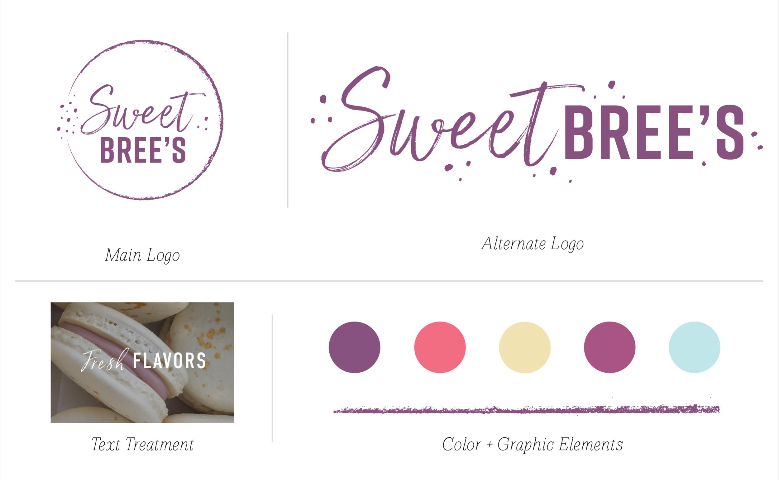 Sweet Bree's Web Branding