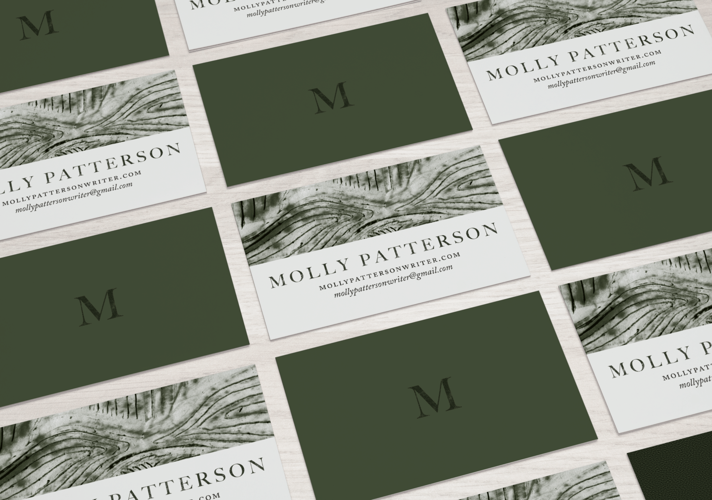 Molly Patterson Business Cards by Nikkita.Co | http://nikkita.co