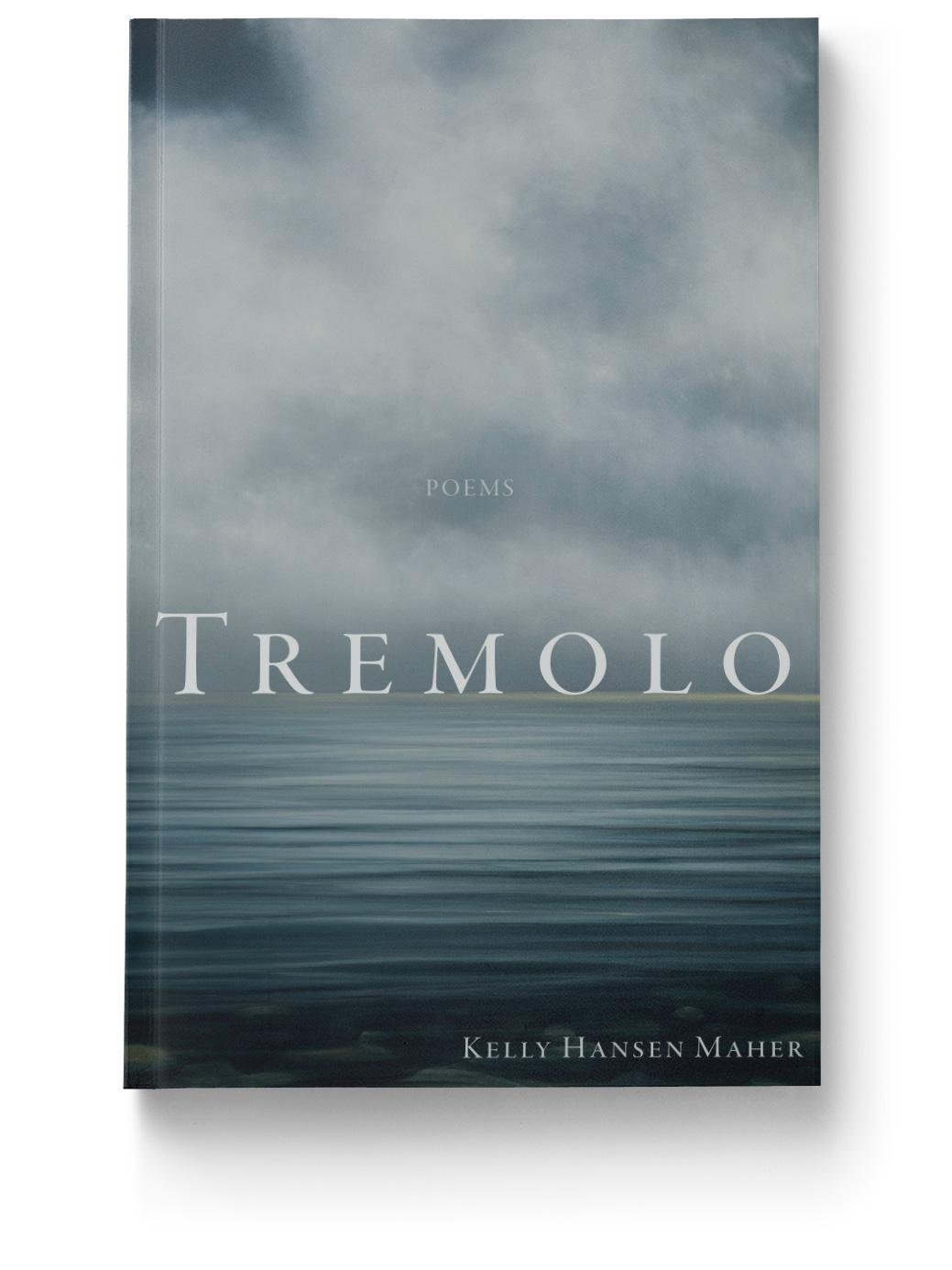 Cover Design of Tremolo, Tinderbox Editions