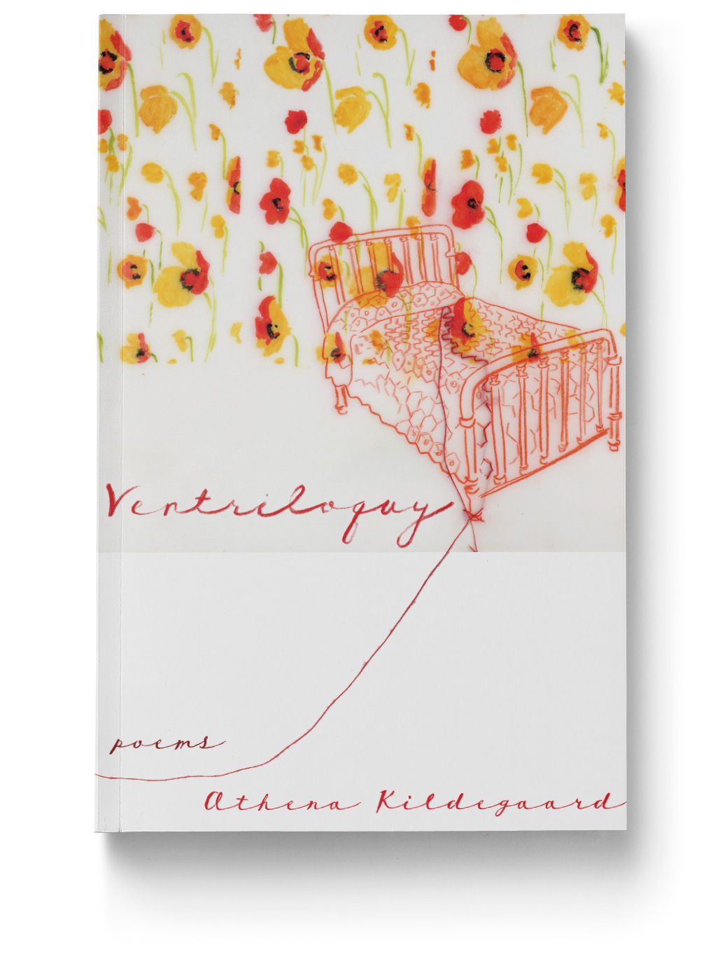 Cover Design for Ventriloquy by Athena Kildegaard for Tinderbox Editions