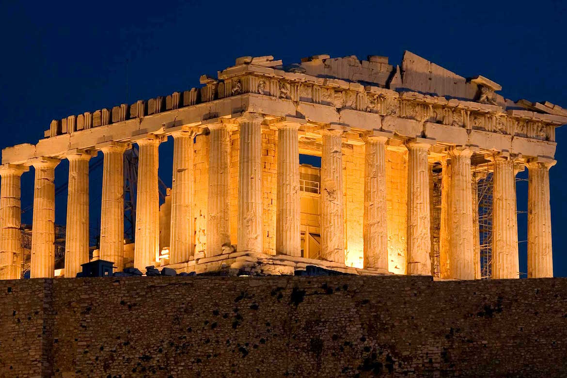 Rome, Italy - Visit the birthplace of Western Civilization with a trip to the Acropolis.