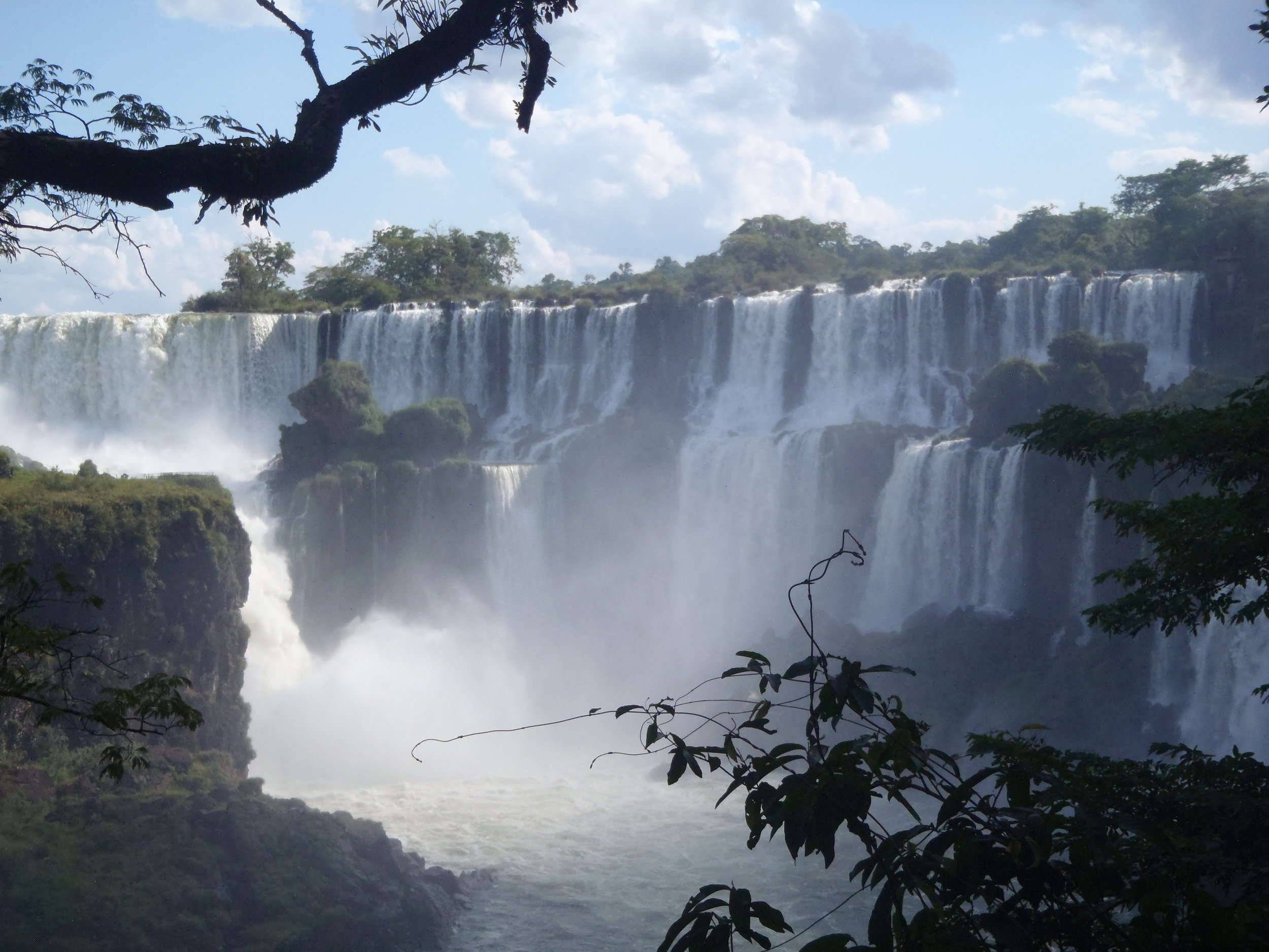Iguazu Falls, Brazil/Argentina - Stand atop one of the world's most incredible waterfalls.