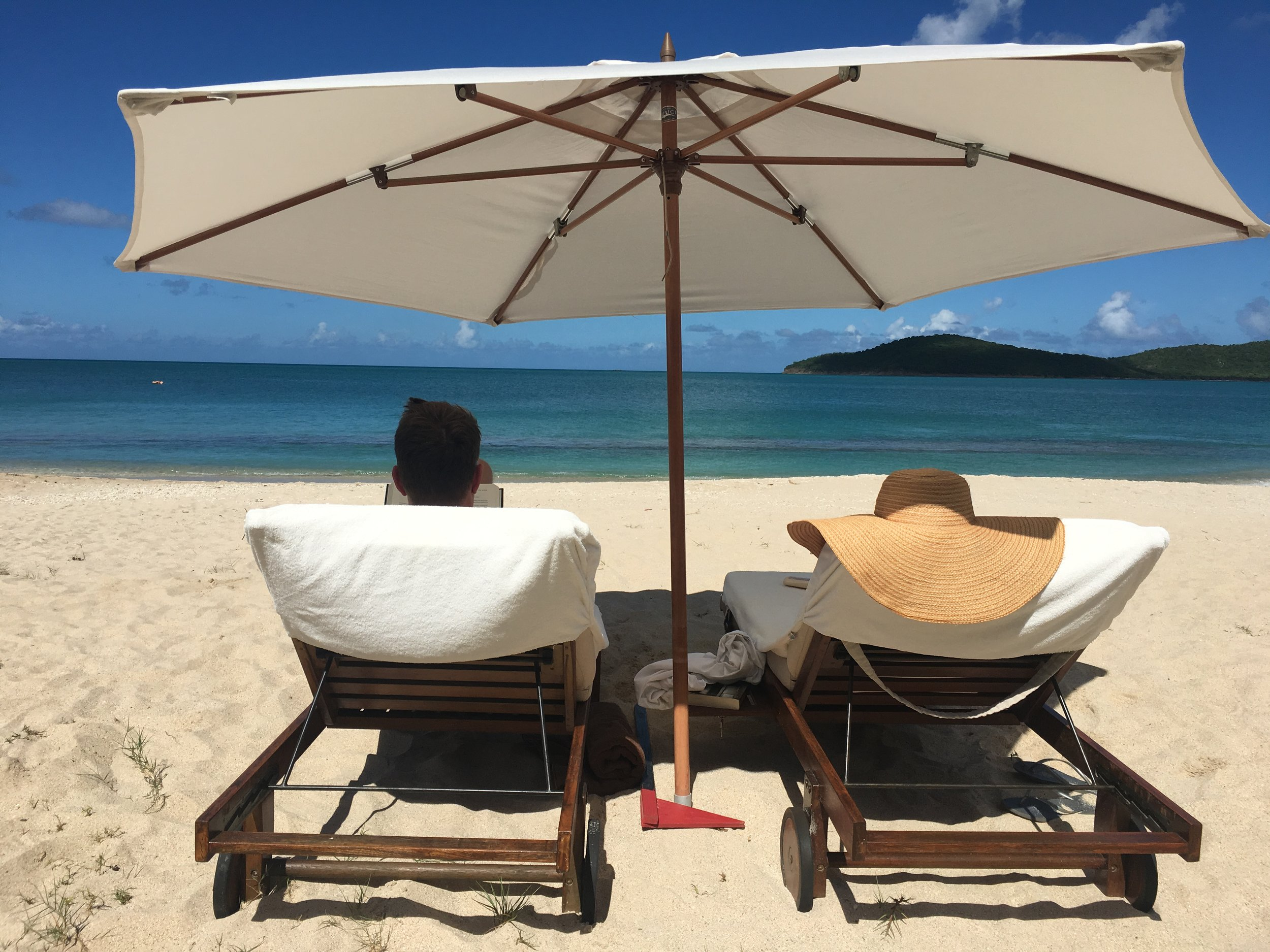 Antigua - Experience innovative color-therapy spa treatments in Antigua...or just sit on the beach.