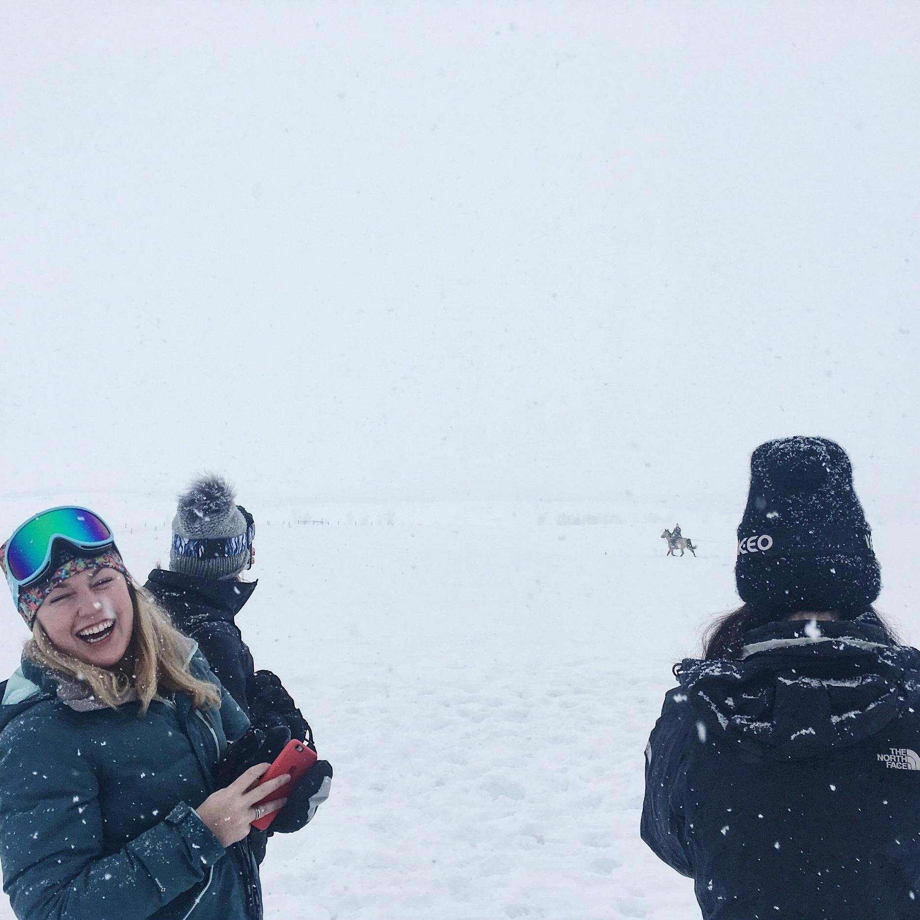 A real-life Winter Wonderland.