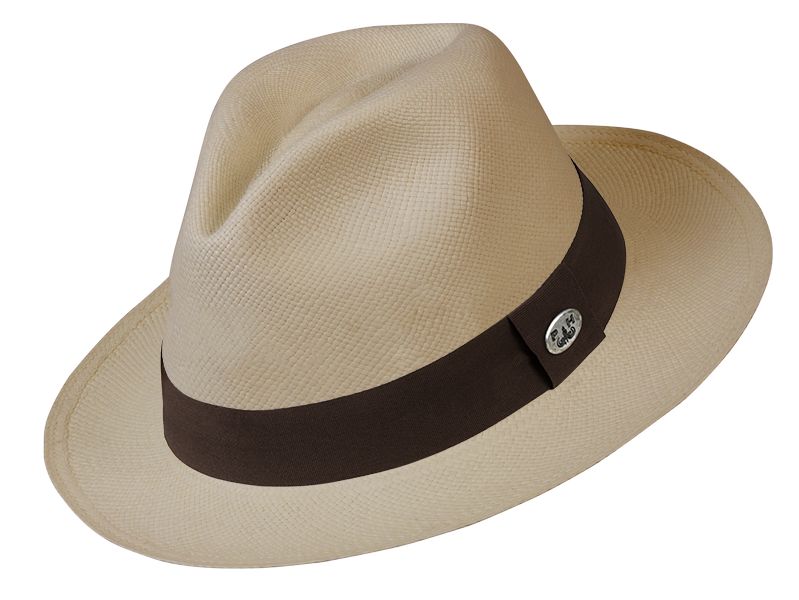 Panama Hat - Practical and stylish, Agustina loves the Italian brand, Panama Hatters.