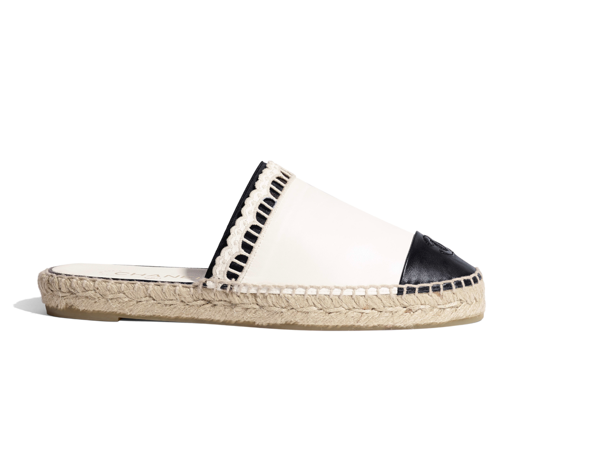 Summer Espadrilles - Effortless chic and comfortable, Lagos Marmol's favorite is Chanel's leather version of the classic shoe.