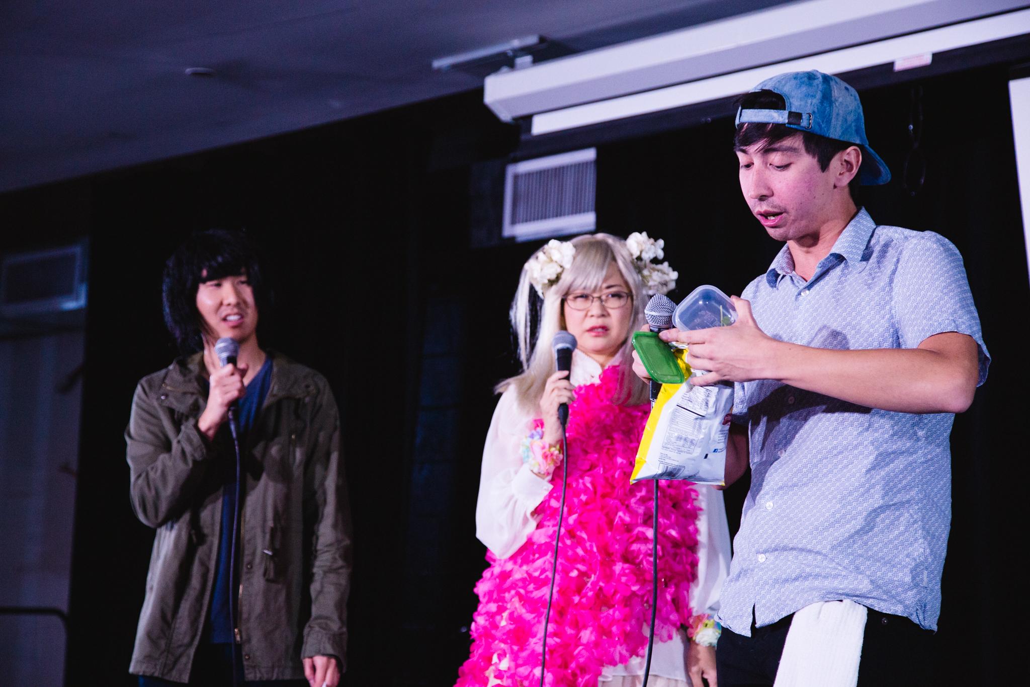 Will Choi, Keiko Agena, Mike Lane