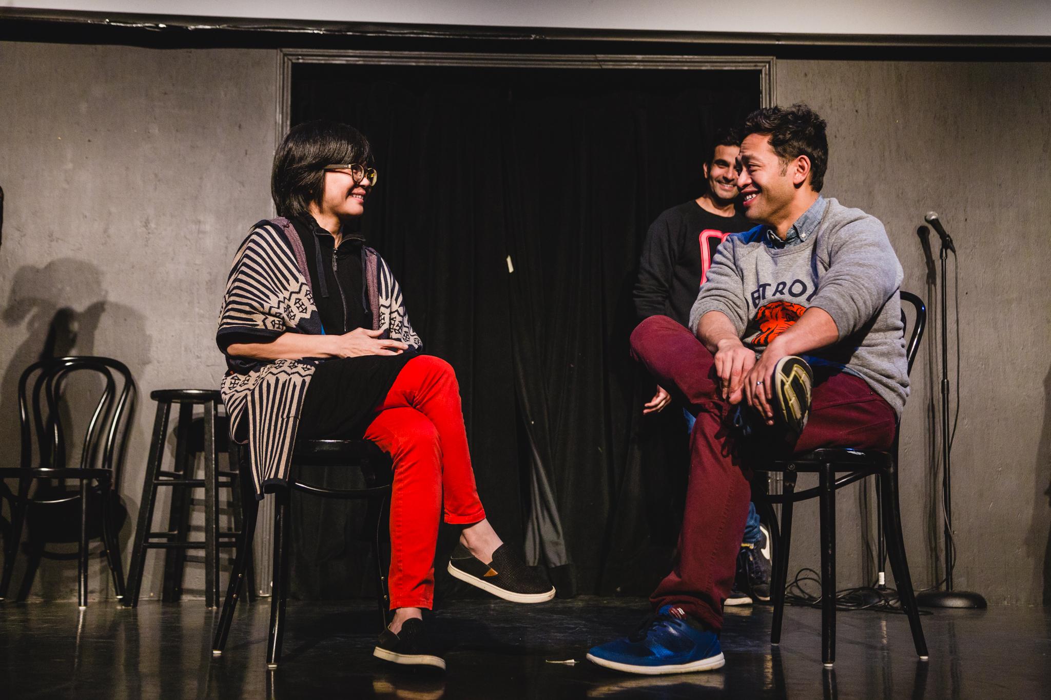 Keiko Agena & Eugene Cordero