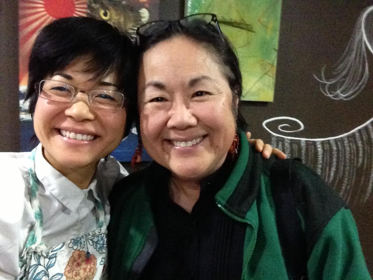 Keiko Agena & Emily Kuroda