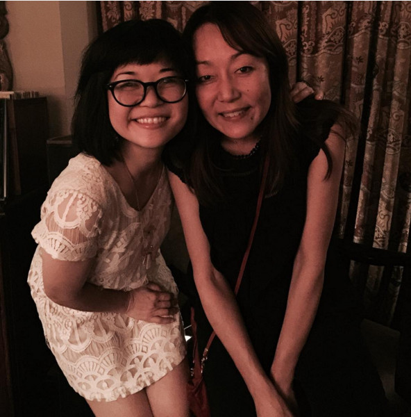 Keiko Agena with Helen Pai