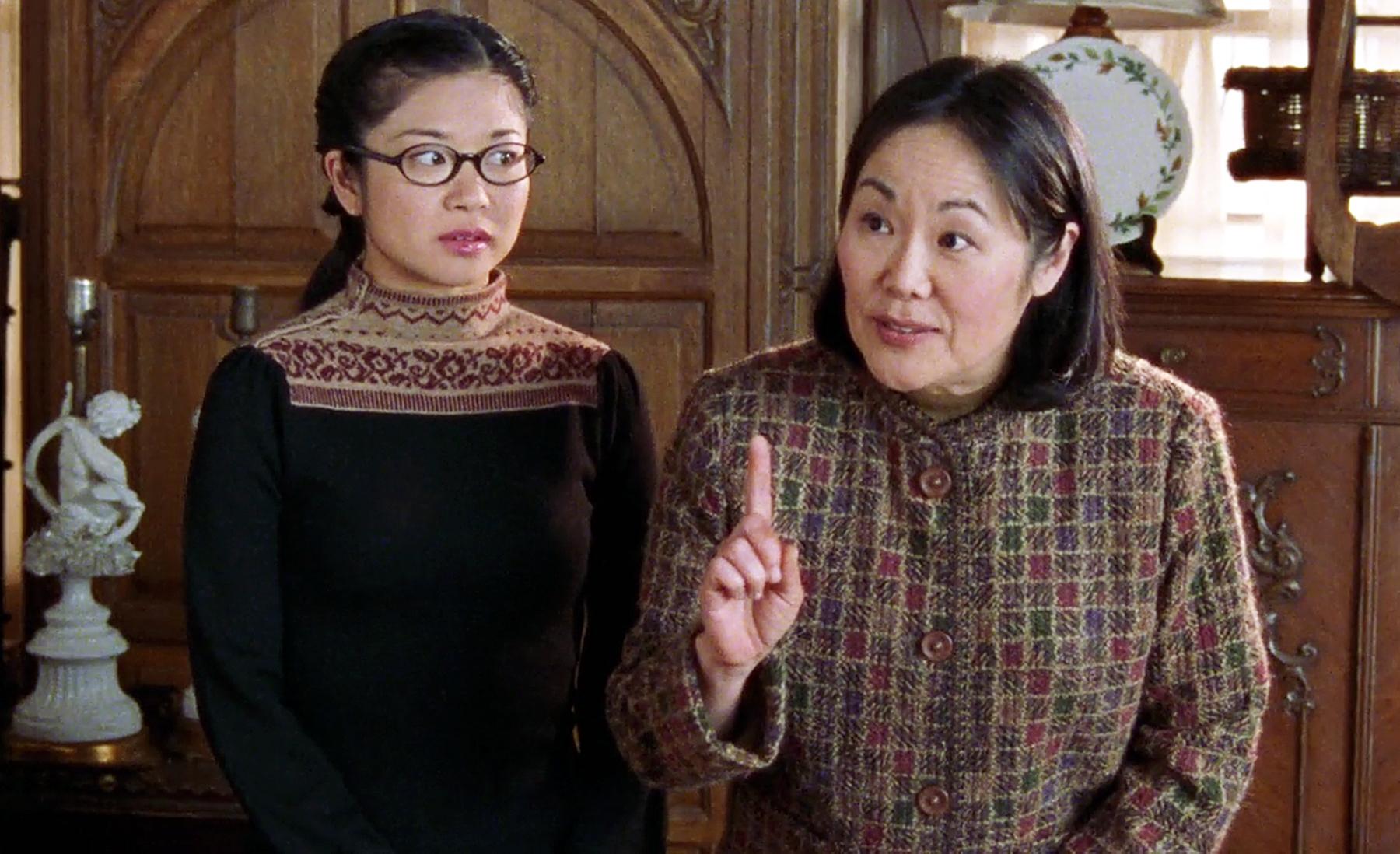 Keiko Agena & Emily Kuroda on Gilmore Girls