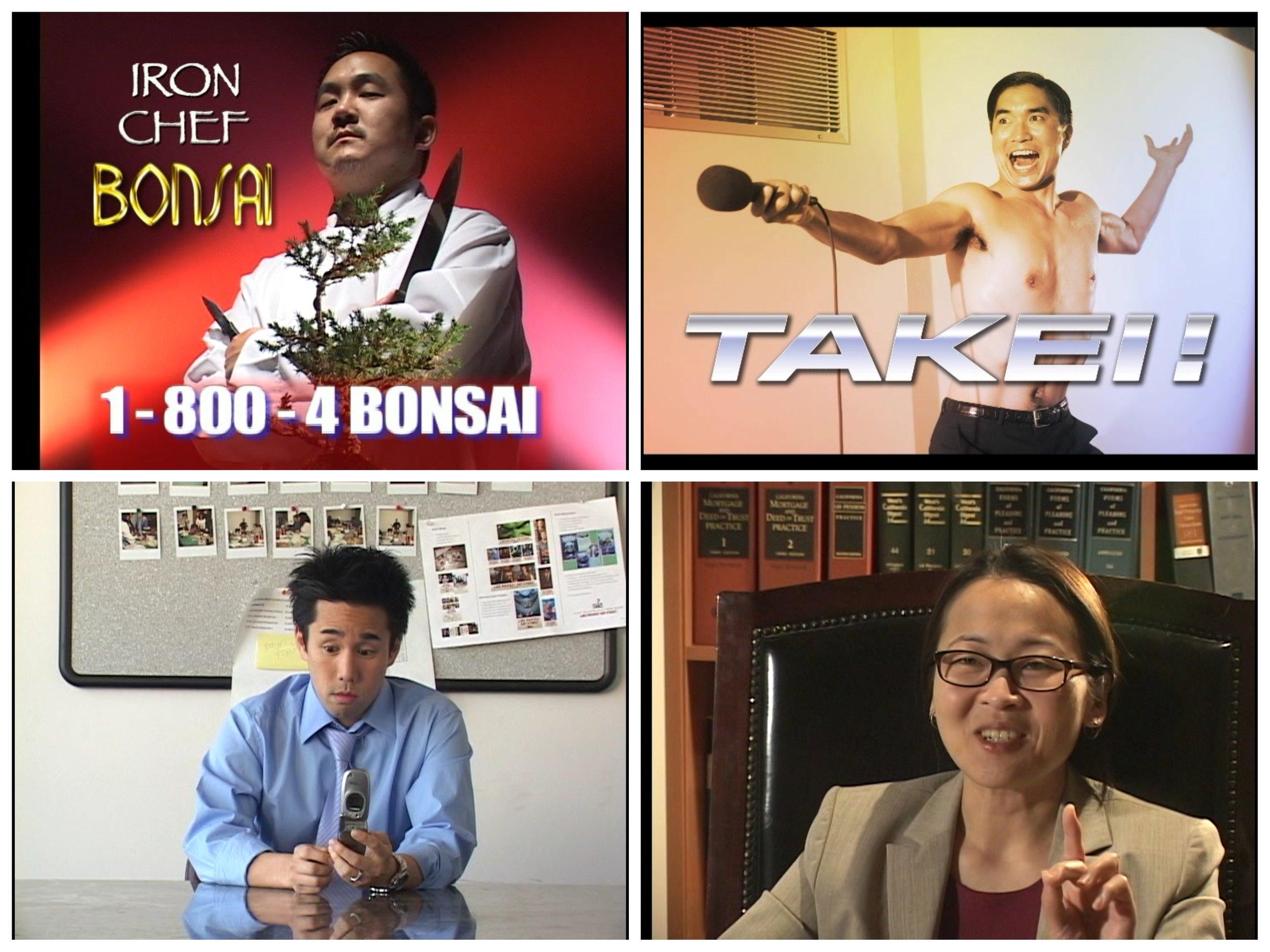 Cast members: Aaron Takahashi, Greg Watanabe, Perry Shen, Suzy Nakamura