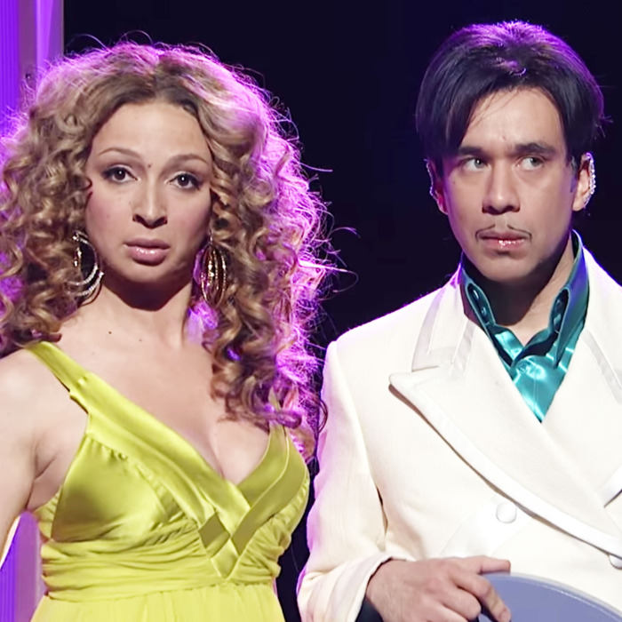 Maya Rudolph and Fred Armisen on SNL