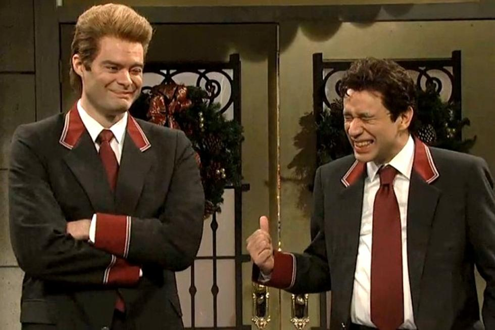 Bill Hader and Fred Armisen on Saturday Night Live