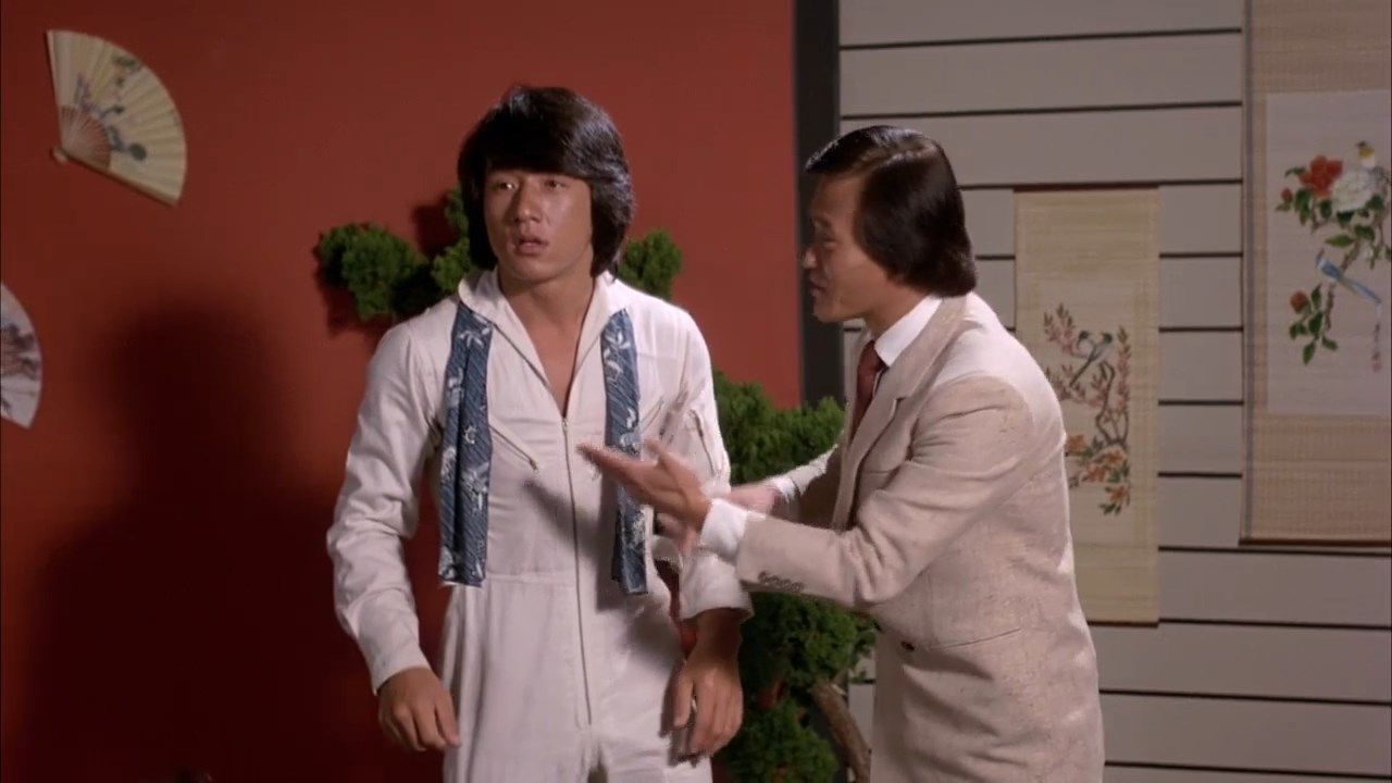 Jackie Chan and Johnny Yune on Cannonball Run
