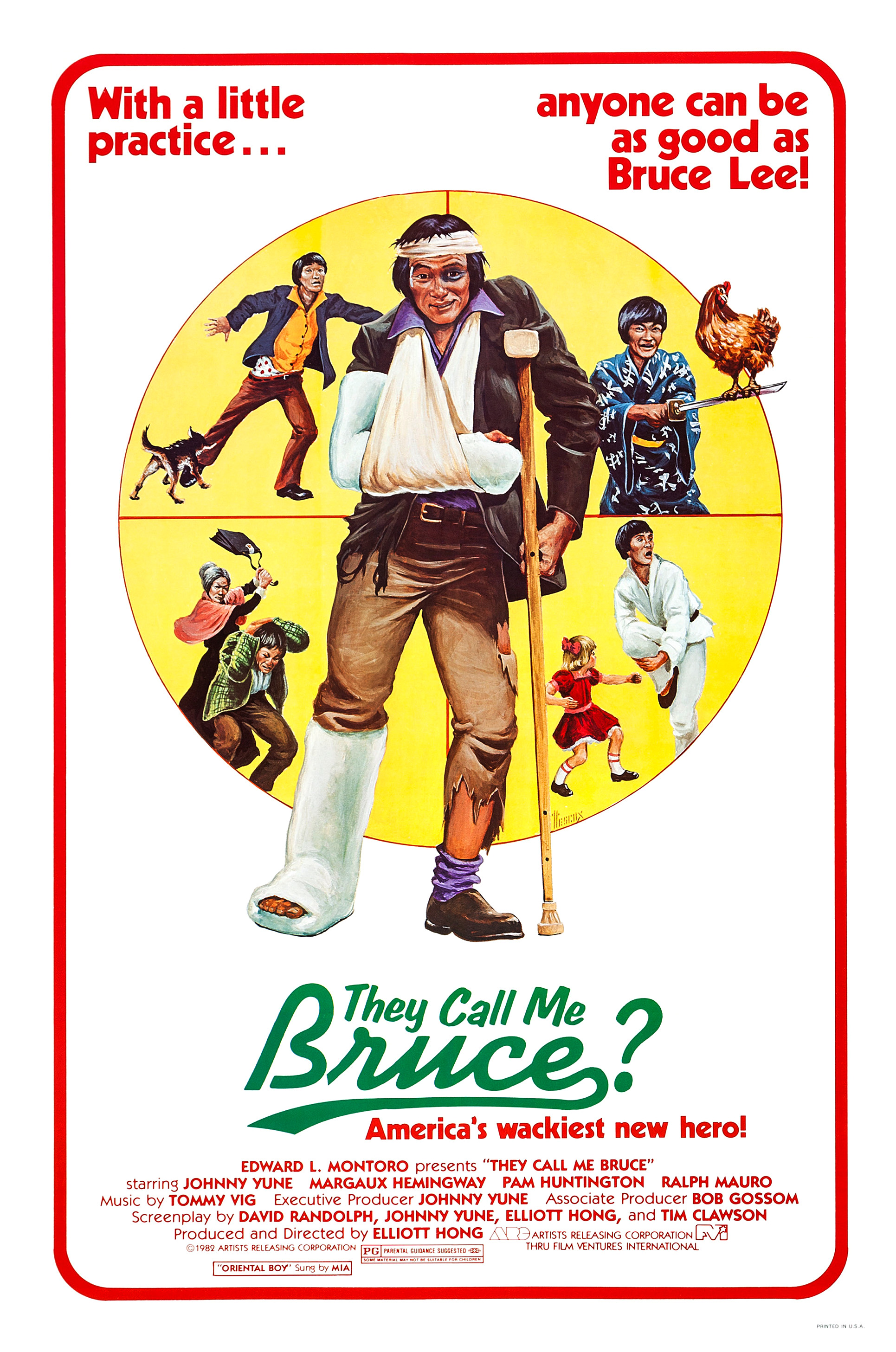 """They Call Me Bruce?"" Movie Poster"