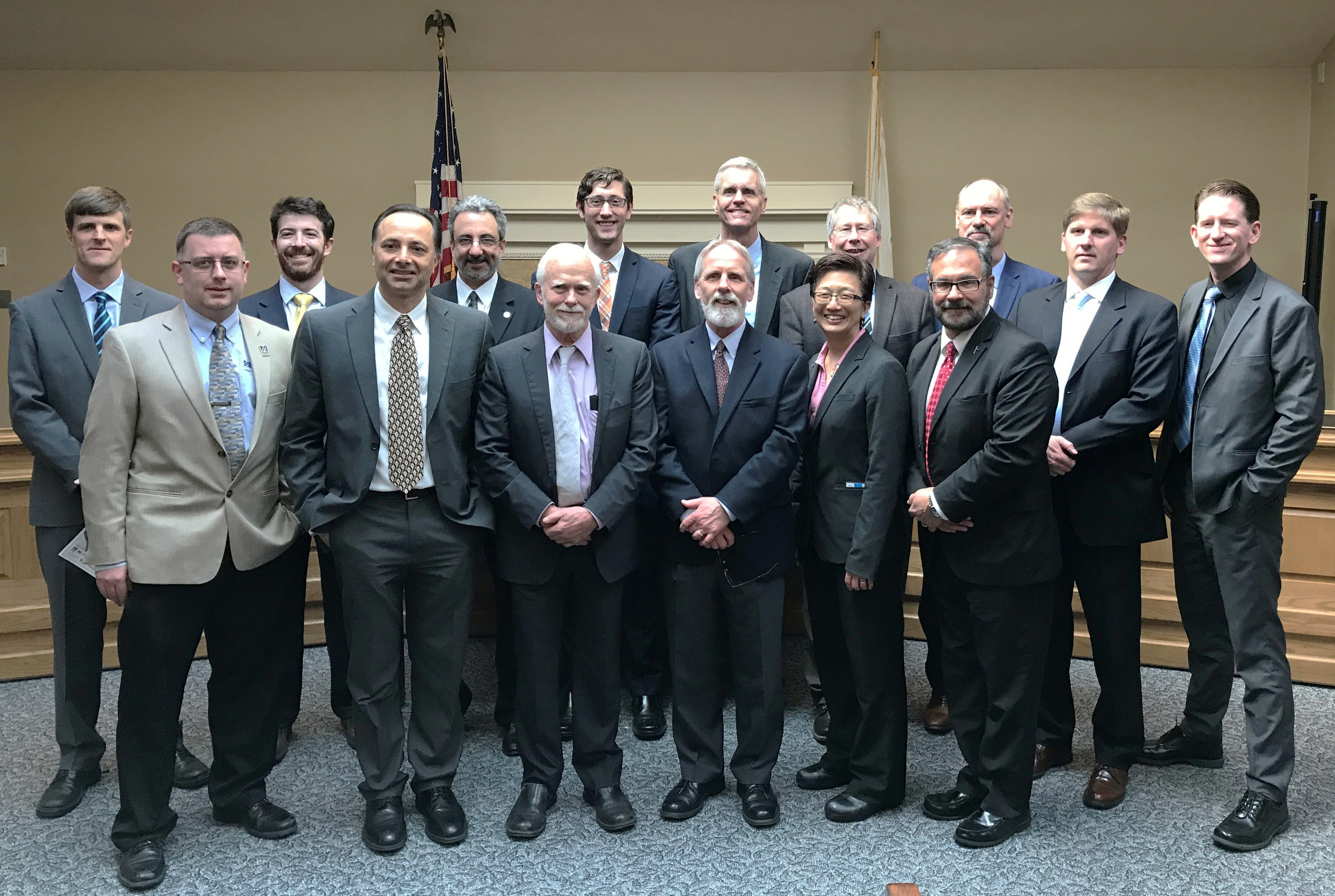 Members of the POWER-US team at the Massachusetts State House.