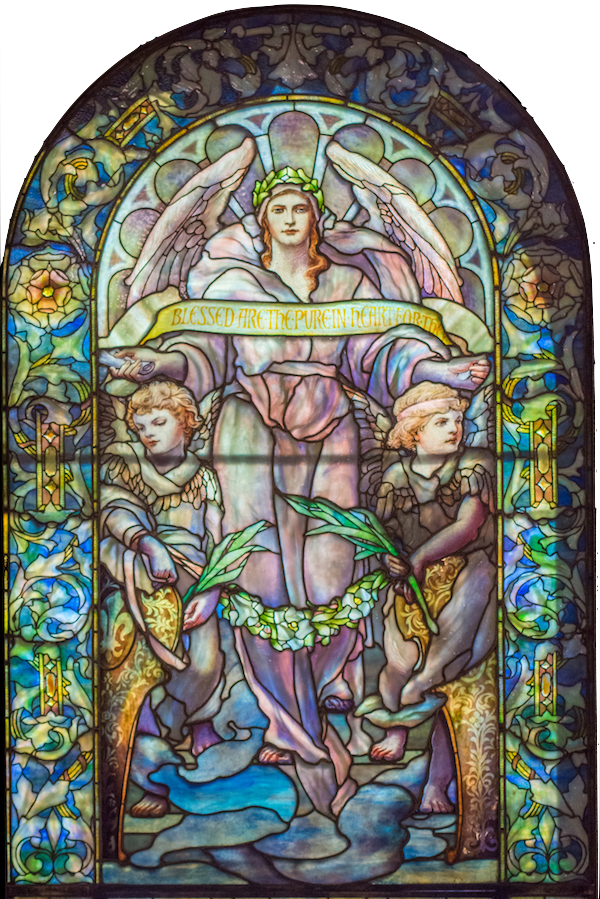 Blessed are the Pure of Hearts: Tiffany Studios November 1906