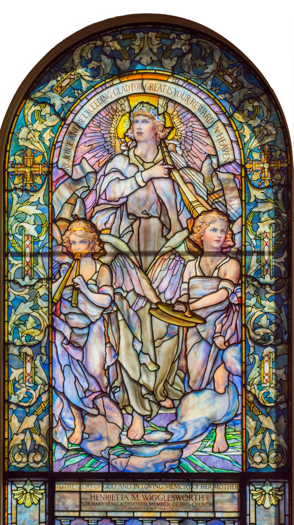 Rejoice and Be Exceedingly Glad: Louis C. Tiffany/New York 1922