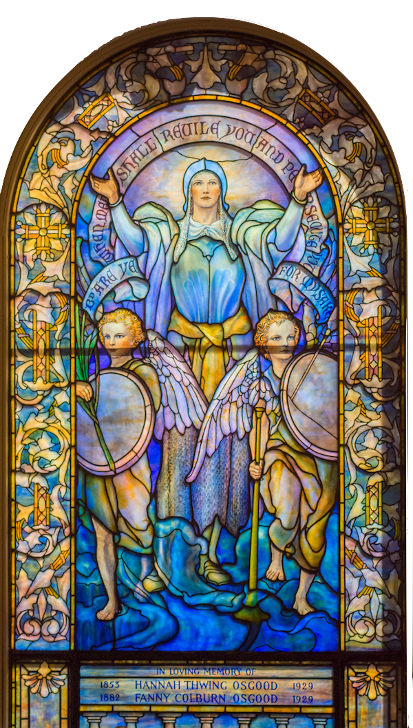 Blessed are Ye when Men shall Revile You and Persecute You: Louis C. Tiffany/New York – dedicated November 30, 1930