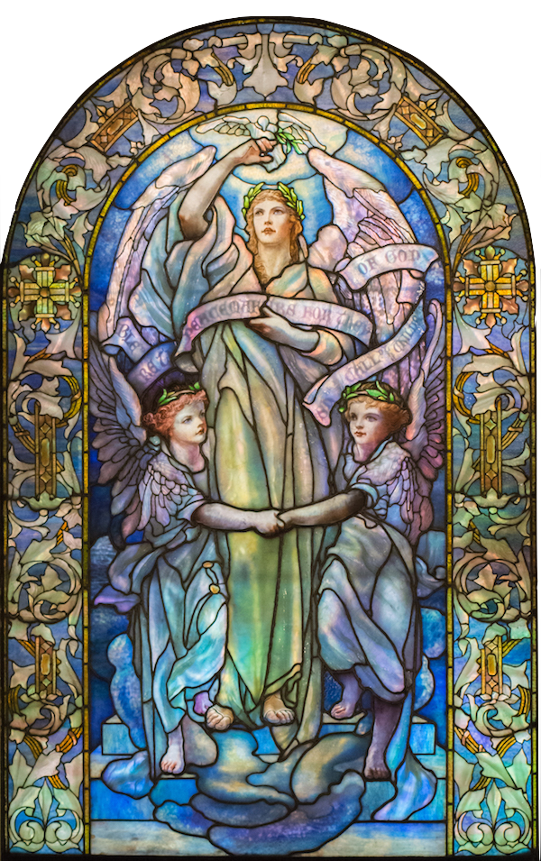 Blessed are the Peacemakers: Tiffany Studios/New York-November 1907