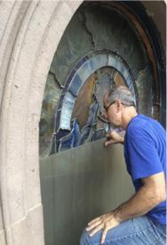 Repairs on window exterior