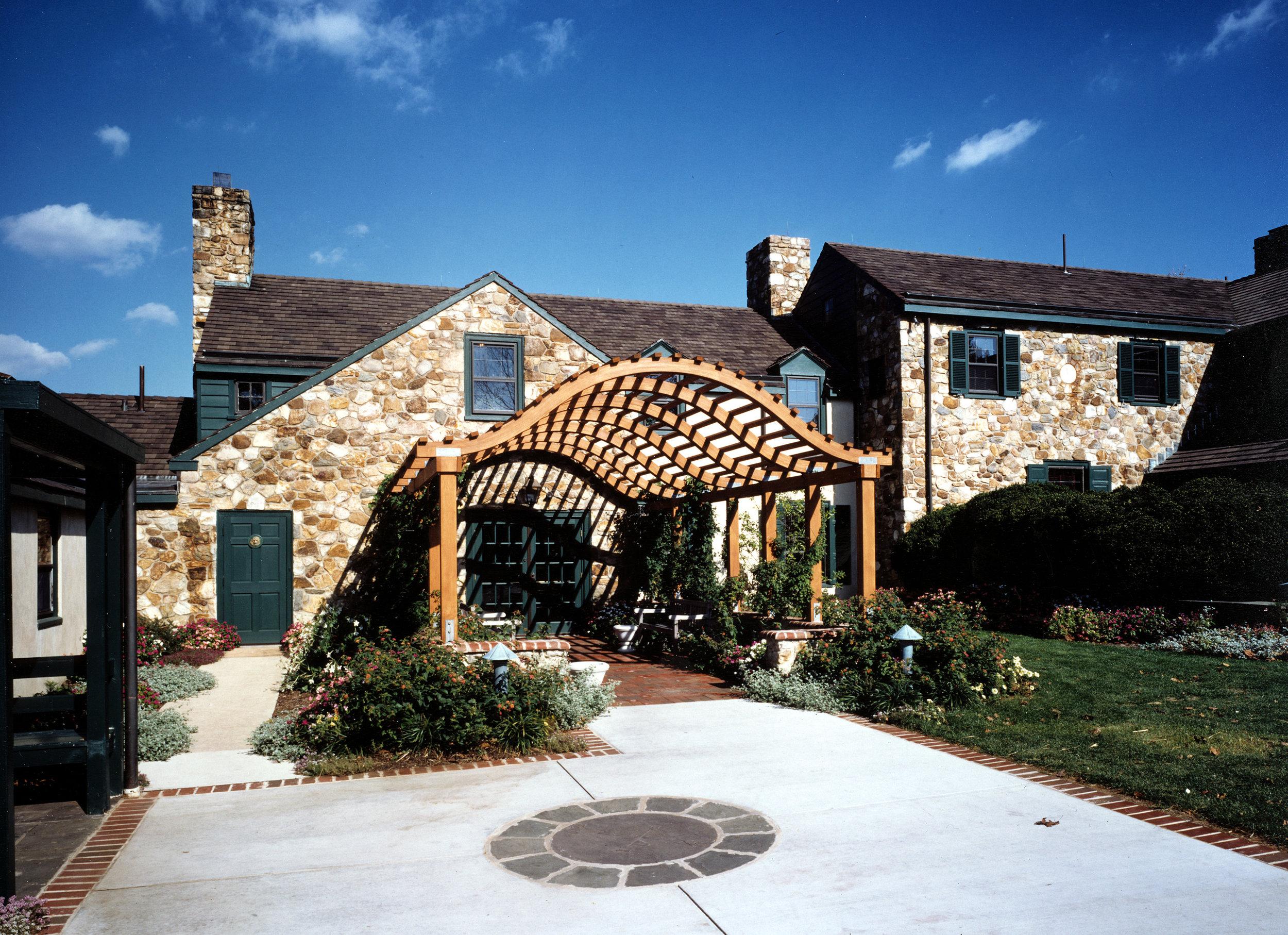 Exterior wooden arches.jpg