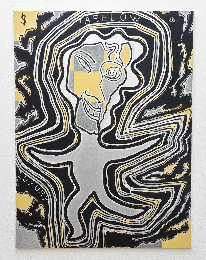 Joshua Abelow  Abelow in Luxury  2016 Oil on linen 80 x 60 inches
