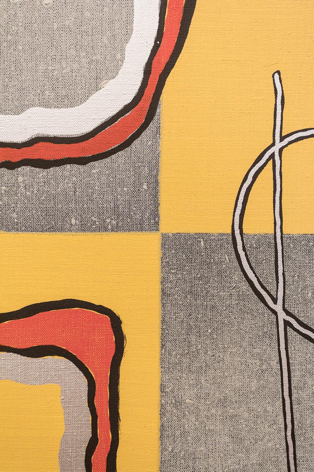 Joshua Abelow  Abelow in Luxury - detail 2016 Oil on linen 80 x 60 inches