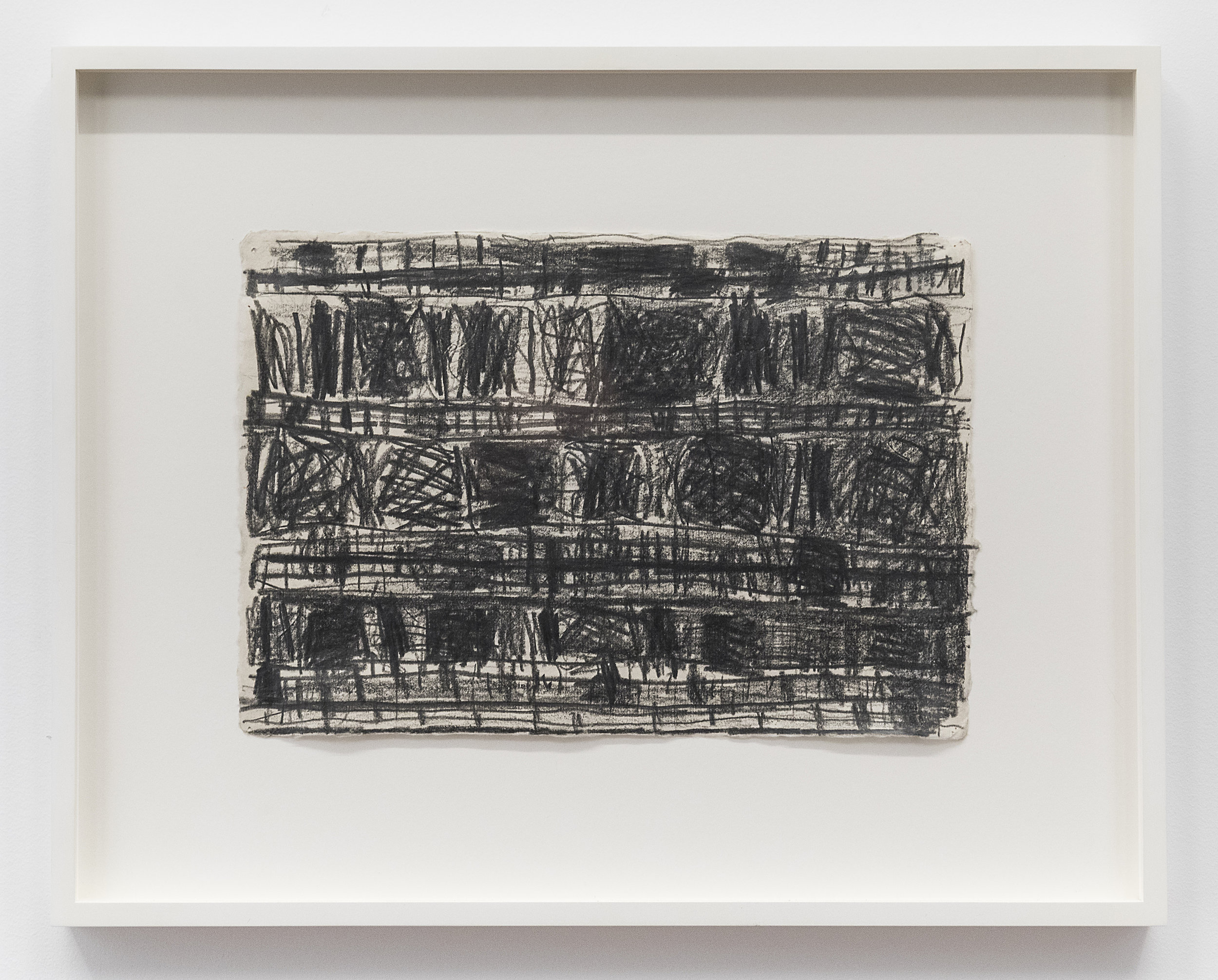 Stanley Whitney  Untitled  1996 Graphite lead on rice paper 9 x 13 inches