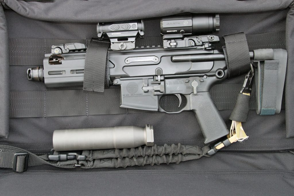 The SIG Sauer MCX Rattler design concept originated with a request from U.S. Special Operations units.