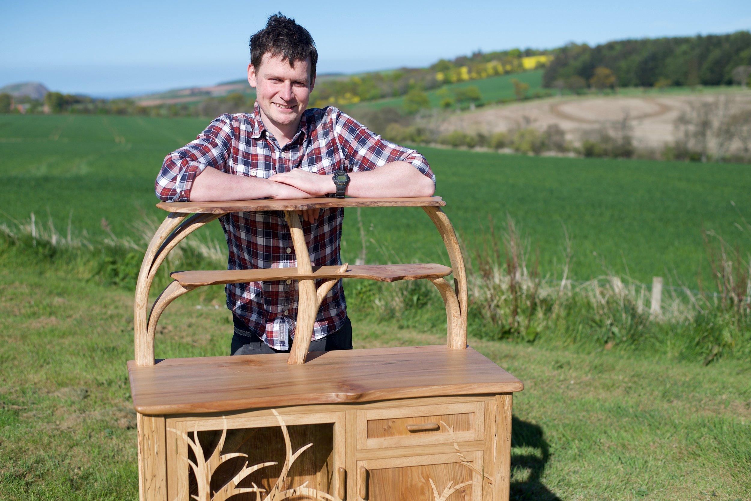 Colin Bate drinks cabinet Highwood Furniture