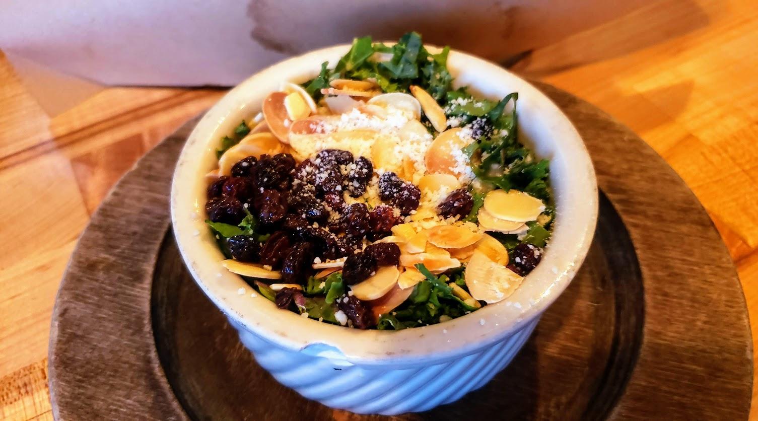 Merle's KY Kale Salad (half sized version)