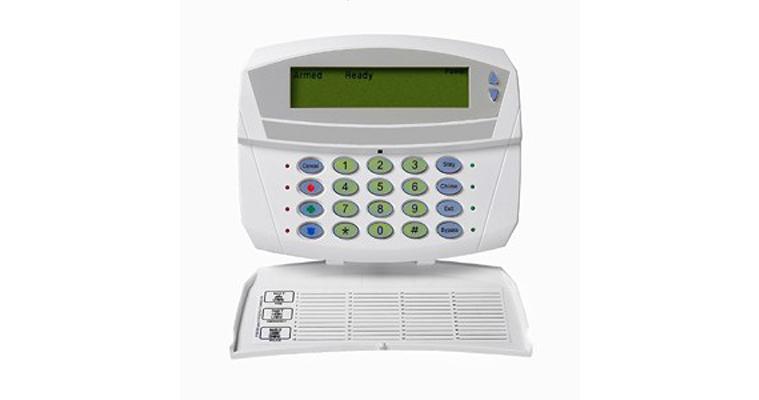 Keypad for the Caddex NX 1228e Fixed English alarm system - NCA Alarms Nashville TN