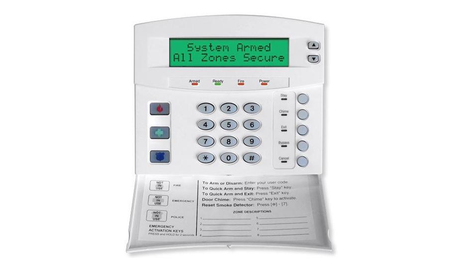 Keypad for the Caddex NX 1448e Custom Alpha alarm system - NCA Alarms Nashville TN