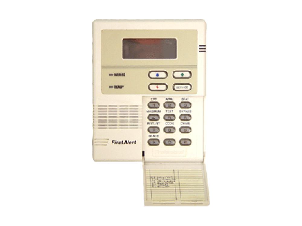 First Alert Keypad alarm system - NCA Alarms Nashville TN