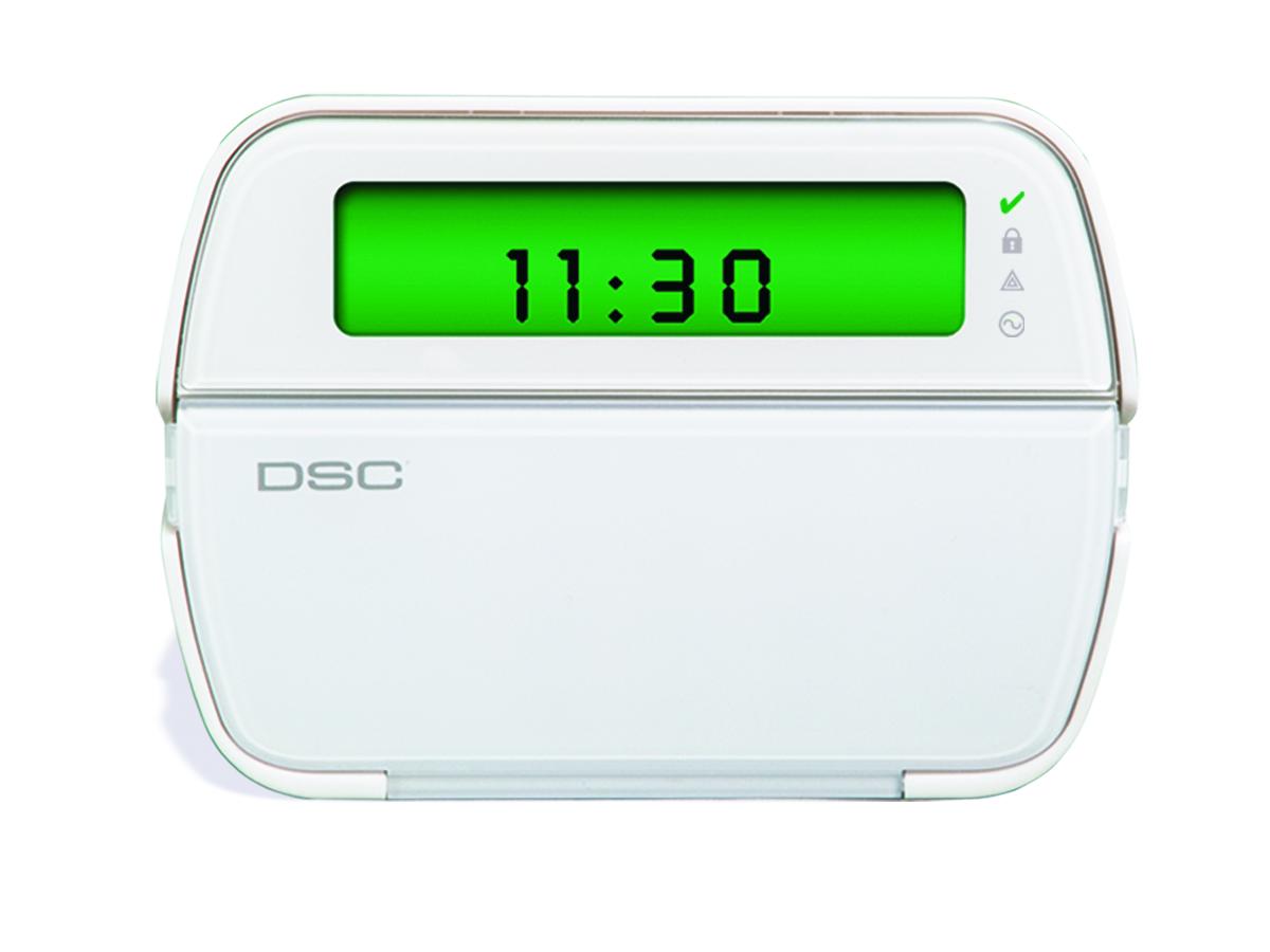 Keypad for the 5501 DCS Power Series Fixed English alarm system - NCA Alarms Nashville TN
