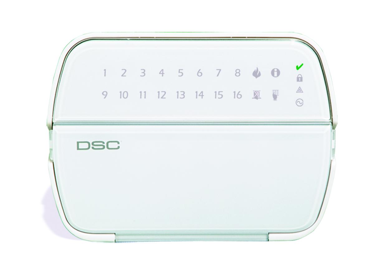Keypad for the 5516Z DSC Power Series LED alarm system - NCA Alarms Nashville TN