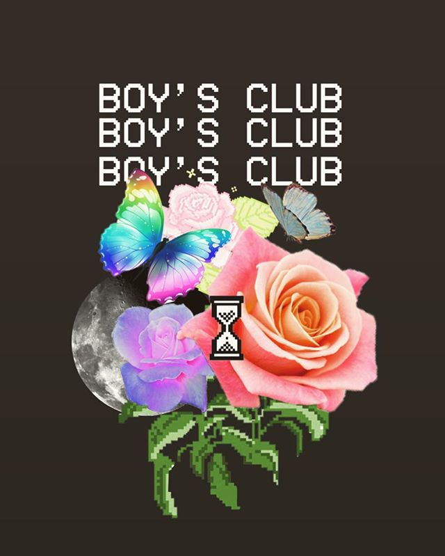 BOYS CLUB #vaporwave #joneswave #asthetic #aesthetic #boysclub @imdustinoneal @raquel_michel