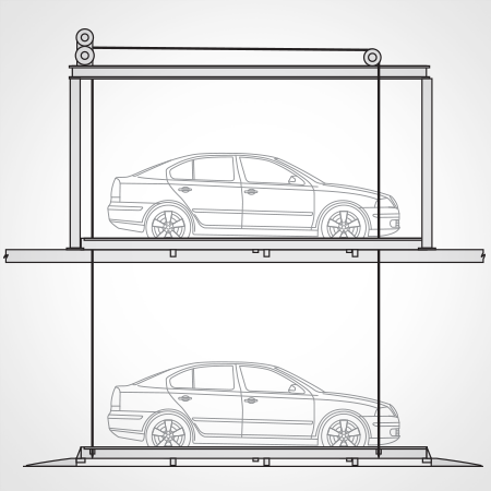 harding_steel_parking_systems_linedrawing_mezzanine_lift.png