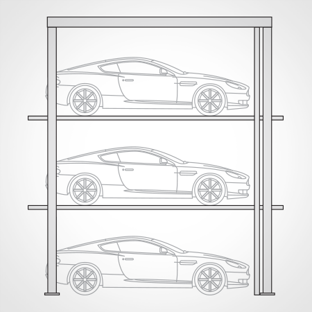 harding_steel_parking_systems_linedrawing_display_tower.png