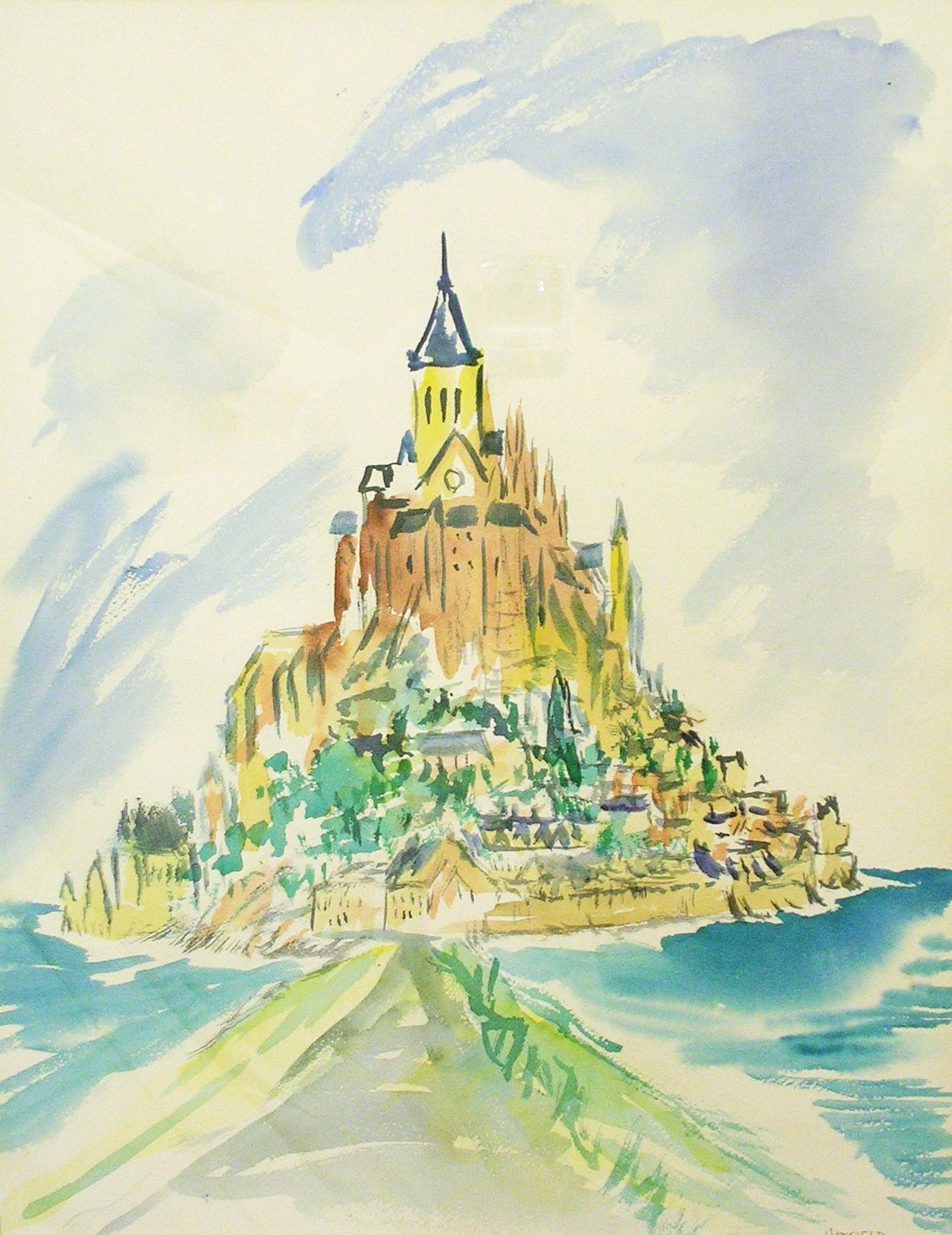 Le Mont St Michel, 1979 .jpg