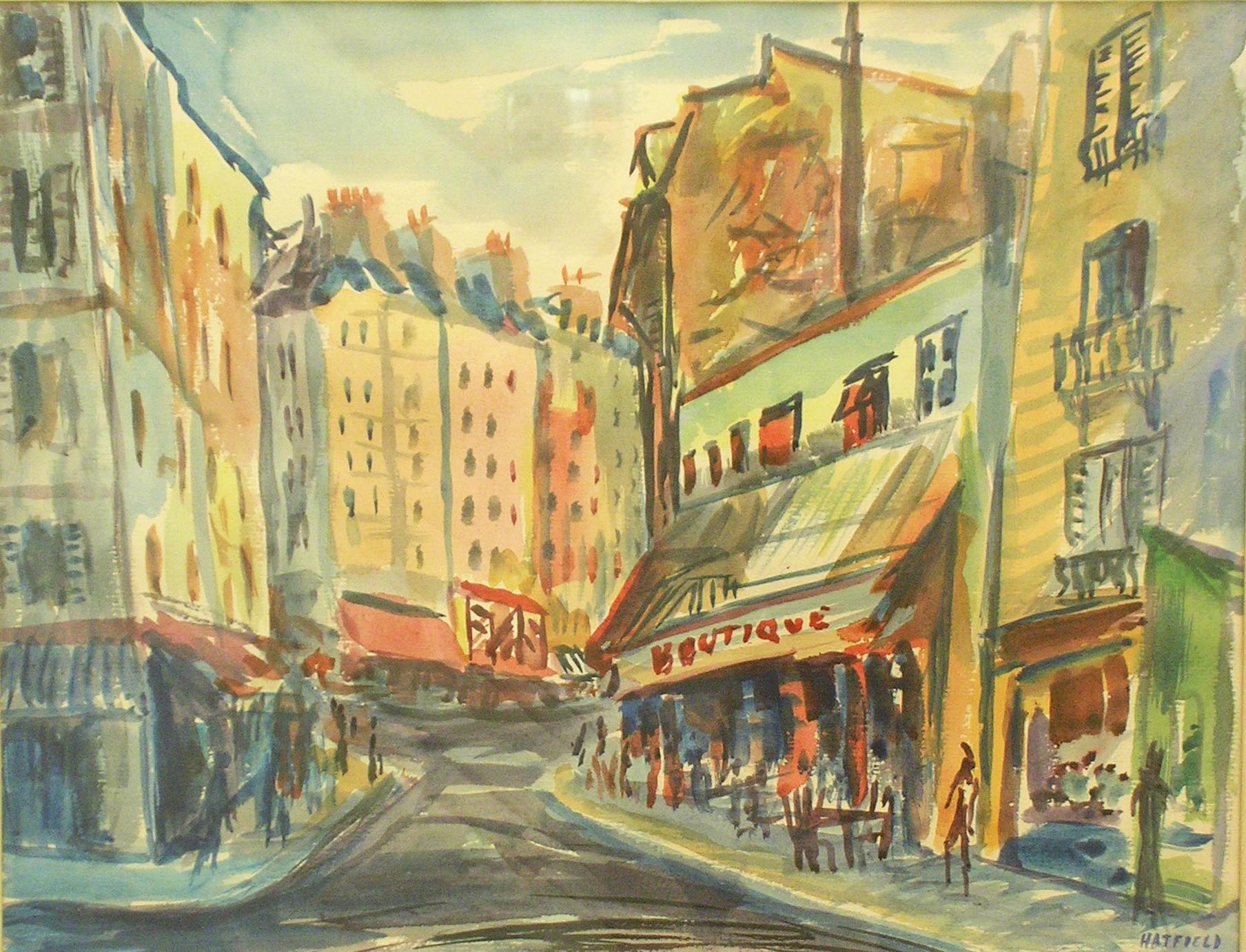 Rue a Montmartre, Paris c.1959 .jpg