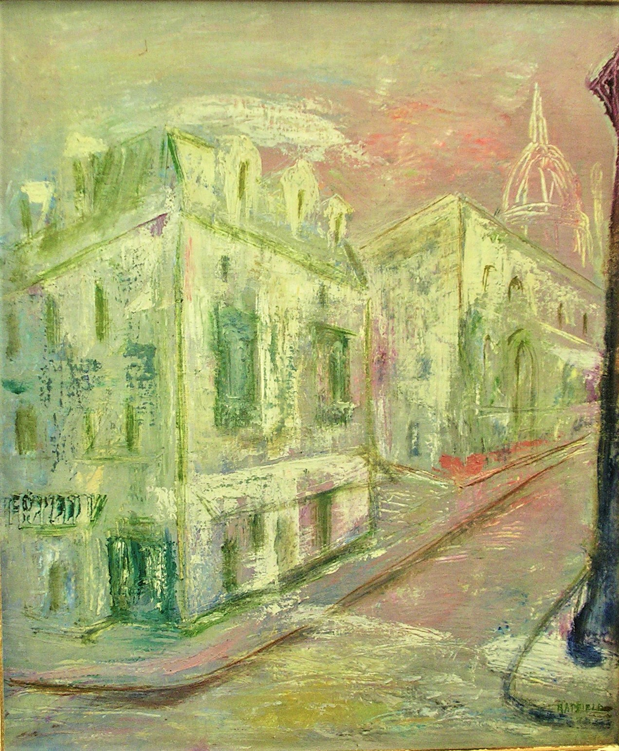 Street to Sacre Coeur, Paris, c.1974 .jpg